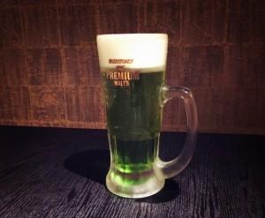 抹茶ビール1