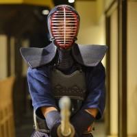 剣道の試合の後に